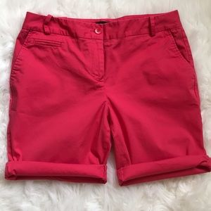 🌺 Talbots 8P shorts, rose coral color